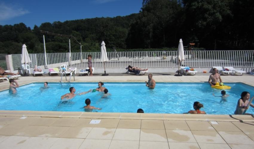 piscine camping le Haut Salat