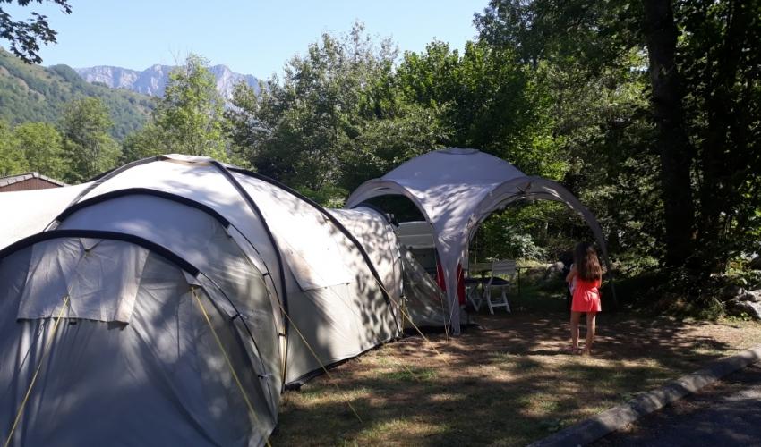 Camping-Le pas de lours-ariege-pyrenees
