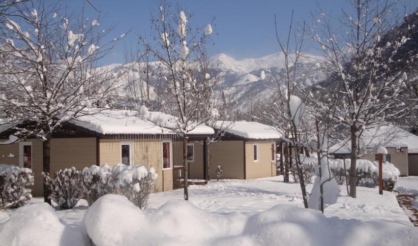 Le pas de lours-chalet detente-hiver-pyrenees
