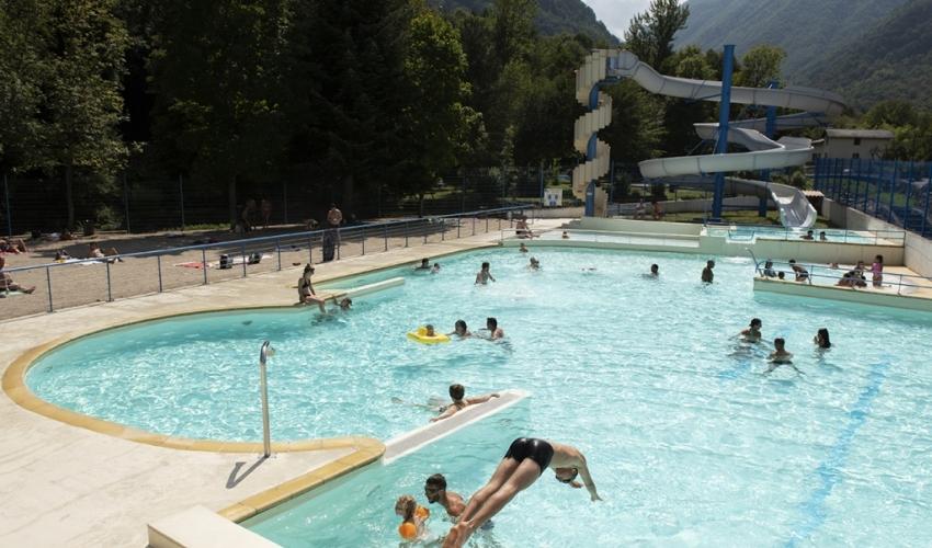 Le pas de lours-piscine-camping-ariege