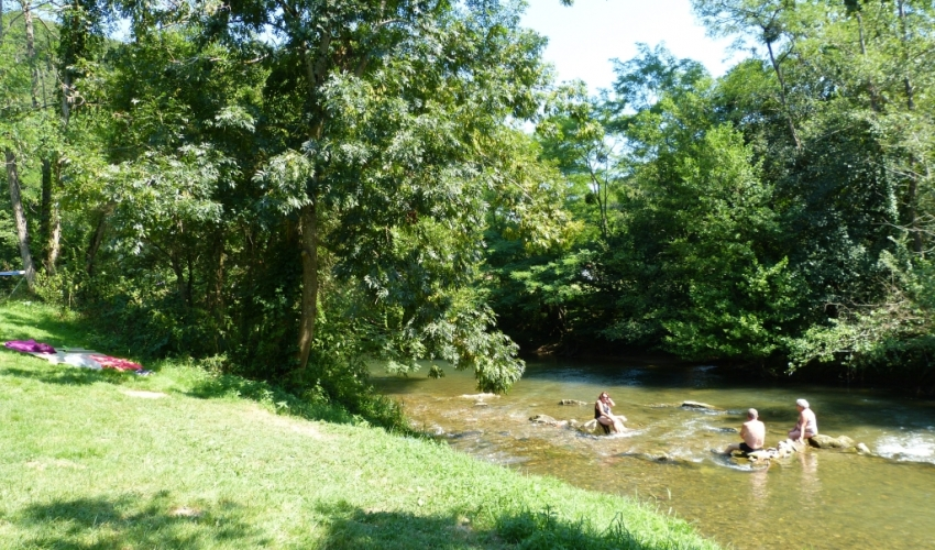 camping Riviere ariege pyrenees